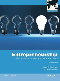 Entrepreneurship: Successfully Launching New Ventures Global Edition (h�ftad)