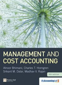 Management and Cost Accounting with MyAccountingLab access card ()