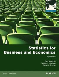 Statistics for Business and Economics: Global Edition (h�ftad)