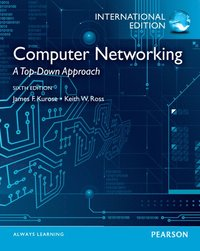 Computer Networking 6th Edition Pearson International Edition (h�ftad)