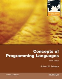 Concepts of Programming Languages: International Edition ()