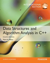 Data Structures and Algorithm Analysis in C++, International Edition (h�ftad)