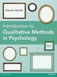 Introduction to Qualitative Methods in Psychology (h�ftad)