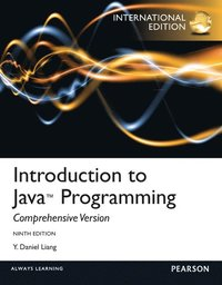 Introduction To Java Programming, Comprehesive Version: International Edition 9th Edition Book/CD Package