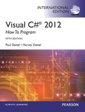 Visual C# 2012 How to Program International Edition 5th Edition