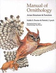 Manual of Ornithology (häftad)