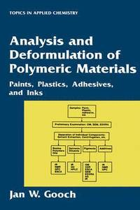 Analysis and Deformulation of Polymeric Materials