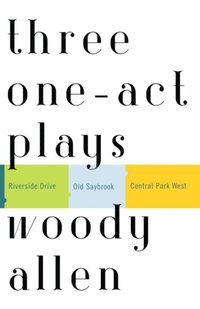 Three One-Act Plays (inbunden)