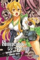 Highschool of the Dead: v. 7 (h�ftad)