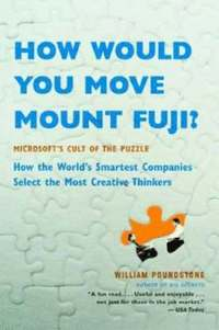 How Would You Move Mount Fuji? (h�ftad)