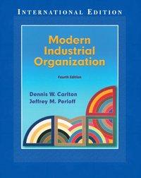 Modern Industrial Organization (h�ftad)