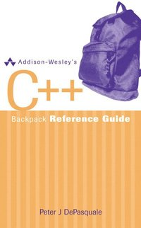 Addison-Wesley's C++ Backpack Reference Guide (h�ftad)