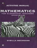 Activities Manual for Mathematics for Elementary Teachers