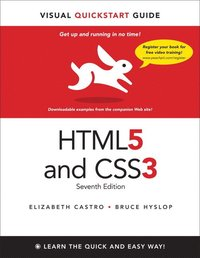 HTML5 and CSS3: Visual QuickStart Guide 7th Edition (h�ftad)