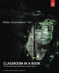 Adobe Dreamweaver CS6 Classroom in a Book Book/DVD Package