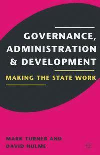 Governance, Administration and Development