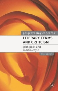 Literary Terms and Criticism (h�ftad)