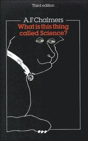 What Is This Thing Called Science? Third Edition (h�ftad)
