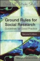 Ground Rules for Social Research (h�ftad)