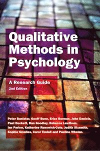 Qualitative Methods in Psychology (h�ftad)