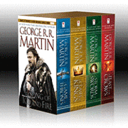 George R. R. Martin's a Game of Thrones 4-Book Boxed Set: A Game of Thrones, a Clash of Kings, a Storm of Swords, and a Feast for Crows (inbunden)