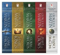 George R. R. Martin's A Game of Thrones 5-Book Boxed Set (Song of Ice and Fire Series) (e-bok)