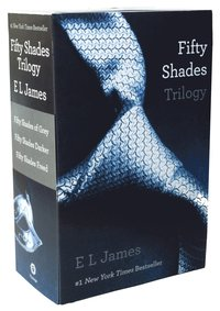 Fifty Shades Trilogy: Fifty Shades of Grey, Fifty Shades Darker, Fifty Shades Freed 3-Volume Boxed Set (h�ftad)