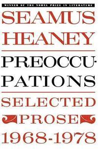 Preoccupations: Selected Prose, 1968-1978 (inbunden)