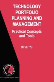 Technology Portfolio Planning and Management (inbunden)