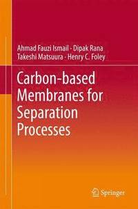 Carbon-Based Membranes for Separation Processes (inbunden)