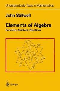 Elements of Algebra (h�ftad)
