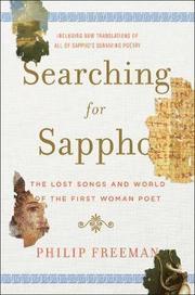 Bokomslag Searching for Sappho (inbunden)