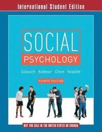 Social Psychology (h�ftad)