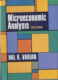 Microeconomic Analysis (h�ftad)