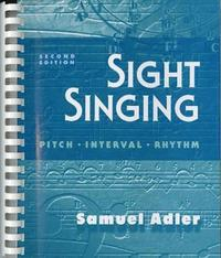 Sight Singing (h�ftad)