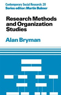 Research Methods and Organization Studies (h�ftad)