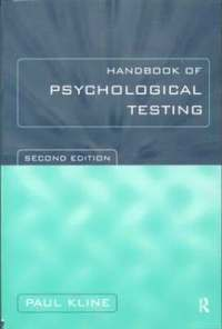 Handbook of Psychological Testing (e-bok)