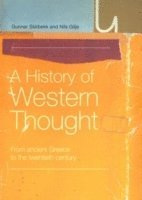 A History of Western Thought (h�ftad)
