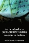 An Introduction to Forensic Linguistics