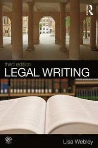 Legal Writing (h�ftad)