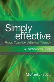 Simply Effective Group Cognitive Behaviour Therapy (h�ftad)