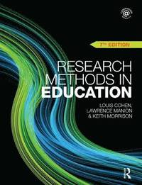 Research Methods in Education (h�ftad)