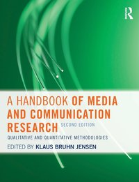 A Handbook of Media and Communication Research (h�ftad)
