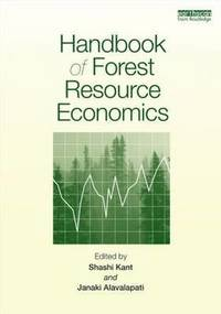 Handbook of Forest Resource Economics (inbunden)