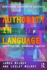 Authority in Language (h�ftad)