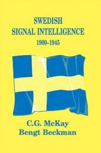 Swedish Signal Intelligence 1900-1945