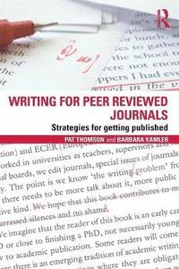 Writing for Peer Reviewed Journals (inbunden)