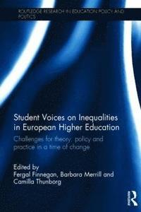 Student Voices on Inequalities in European Higher Education (inbunden)