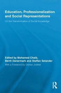 Education, Professionalization and Social Representations (kartonnage)