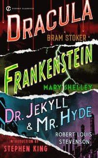 Frankenstein; Dracula; Dr Jekyll and MR Hyde (h�ftad)